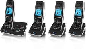 BT6500 Quad digital cordless phone with answering machine £25 @ Sainsbury's