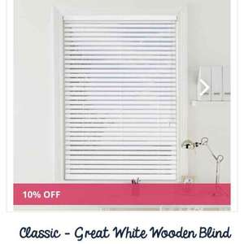 Web Blinds - Discounts