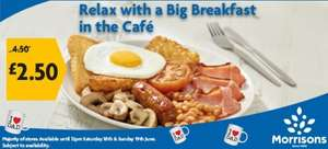 Morrisons Big Breakfast - £2.50 (Was £4.50) - Morrisons