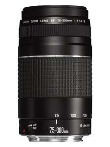 Canon EF 75-300mm f/4.0-5.6 III Lens £84 fulfilled by amazon