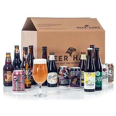 Amex - £10 off £40 at Beer Hawk + 10% Voucher + Possible Cashback (7%)