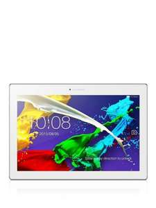 "(Returns) Lenovo Tab 2 A10 Tablet, Quad-core Processor, Android, 10.1"", Full HD, White £99.99 - tabretail  (eBay)"