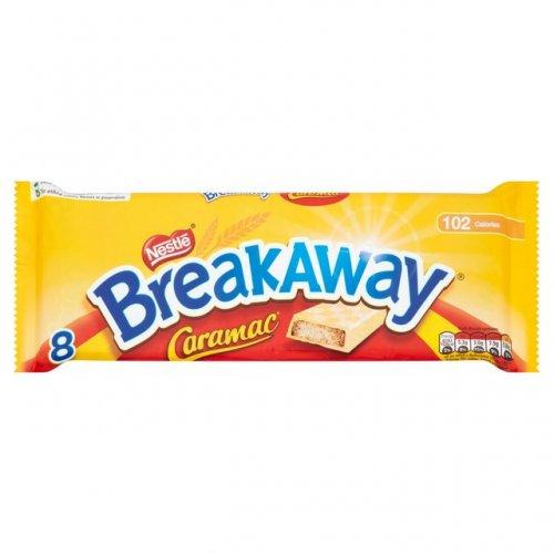 Nestle breakaway caramac biscuits bars 8pk for 49p at B&M