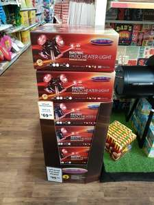 La Hacienda Heatmaster U3R20 2.0KW Popular Umbrella Mount Infrared Heater - £69.99 instore @ The Range