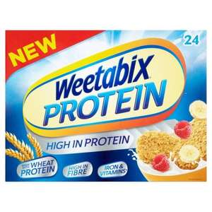 Weetabix Protein 24s and Protein Crunch - £2 or 3 for £5 @ Morrisons