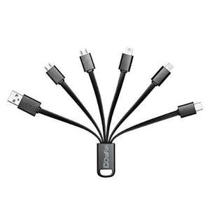 Multi 6 in 1 USB Charging Cable £9.99 prime / £13.98 non prime Sold by Chafon UK and Fulfilled by Amazon