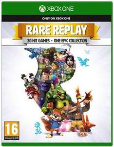 [Xbox One] Rare Replay - £6.49 / Halo 5 Guardians - £8.49 / Rise of the Tomb Raider - £12.99 / Forza 6 - £14.99 - StudentComputers (As New)