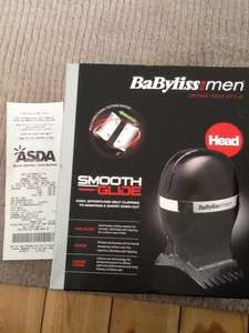 Babyliss for men smooth glide hair clipper £20.00 instore @ asda