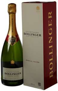 Bollinger Champagne 75cl (£30) / Moet & Chandon Champagne 75cl (£25) Gift Boxed with Free Delivery @ Amazon