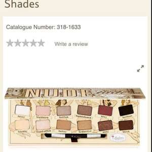 the balm nude tude eyeshadow palette at Tesco online £14.99 but £30 everywhere else FREE DELIVERY