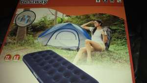 Tesco bestway single air bed. only £5