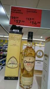 Clontarf single malt Irish whiskey £17.99 Aldi