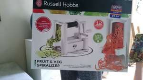 Russel Hobbs spiralizer £9.99 B&M