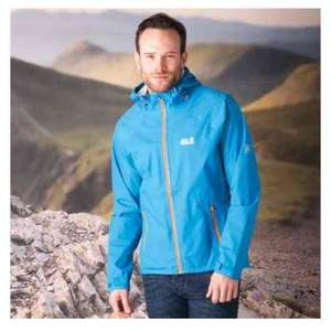 Jack Wolfskin Mens Exhalation Texapore Jacket Mens £42.34 delivered at get the label (GTL part of JD sports)