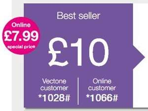 Vectone Mobile - £7.99 - ALL-IN-ONE 500 UK & International calls + 1000 UK SMS + 3GB 3G internet