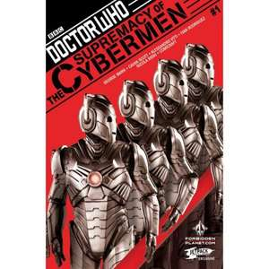 Doctor Who Supremacy Of The Cybermen #1 First edition Print (Forbidden Planet/Jetpack Variant) SIGNED by authors Cavan Scott & George Mann only £2.90 @ Forbidden Planet