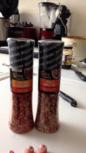 World of Spice Chili & Garlic Spice Grinder 270g - £1.99 @ B&M