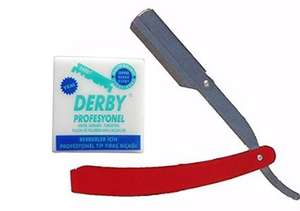 Razor & Derby 100 Blades £2.98 Delievred @ Amazon (Sold by Salon Time)