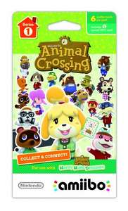 Animal Crossing Series 1 Pack (3 Cards) only £2.50 @ Tesco Outlet (Ebay)
