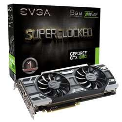 EVGA GeForce GTX 1080 SC GAMING ACX 3.0 £574.63 Delivered from EVGA and available immediately