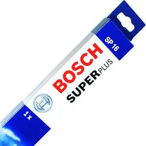 Bosch Super Plus Universal Wiper Blade SP16  £2.64  carparts4less with code