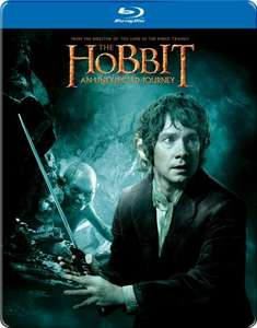 The Hobbit: An Unexpected Journey Steelbook [Blu-ray + UV Copy] for £3.89 at amazon (£5.88 without prime)