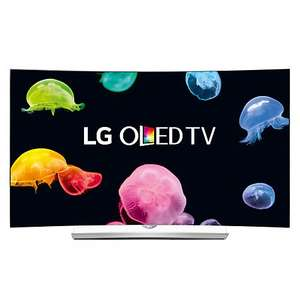 "LG 55EG960V Curved 4K Ultra HD OLED 3D Smart TV, 55"" with Freeview HD, Built-In Wi-Fi, Harman/kardon Audio & 2x 3D Glasses £1799 delivered @ John Lewis"