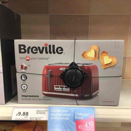 BREVILLE VTT783 4 slice Toaster £9.88 @ Tesco