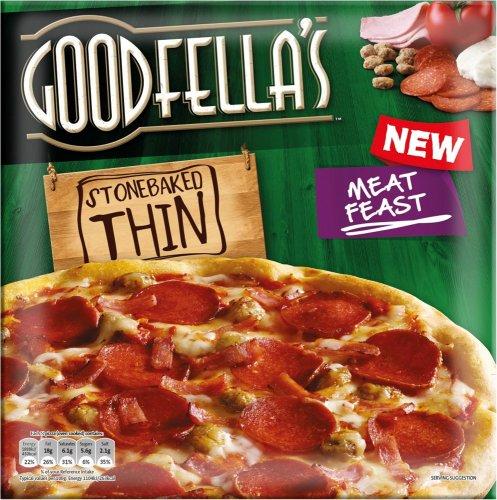 Goodfella's Stonebaked Thin Pizzas Half Price £1.25 @ Tesco