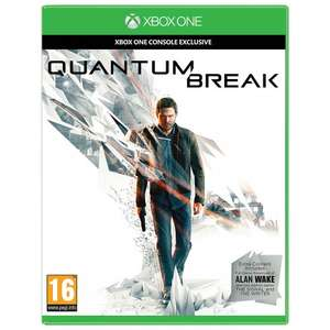 Quantum Break for Xbox One £20.00 + £2.00 c&c (or £3.50 home delivery) £22.00 @ John Lewis