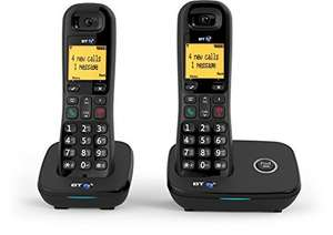 BT1100 Cordless DECT Phone (Twin Handset Pack) £25.99 @ Amazon