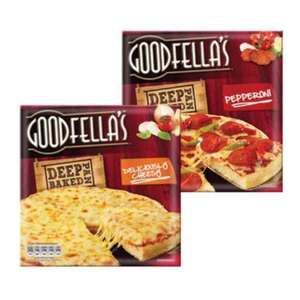 GoodFellas Pizzas Deep or Thin pan 3 for £3.00 @ Farmfoods