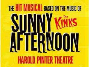 Kinks musical / mama mia / Thriller plus others ticket plus a meal £24 up to end of July @ last minute.com
