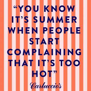 Carluccios Summer Pass - Sign up for extra treats when you dine!