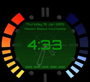 Goldeneye (N64) Android Watch face (Great for Moto360!)