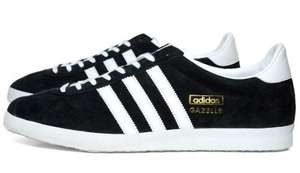Adidas Originals Black Gazelle OG Sneakers  - Size 8  £33.50 + £4.95 oki-ni.com