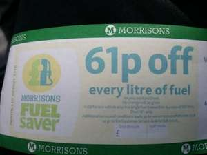 Buy your amazon gift cards from morrisons get 1p off a litre @ Morrisons
