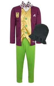 Adult Willy Wonka Fancy Dress Costume Half Price £10 @ George. Free C&C Asda