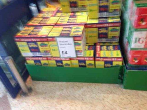 42 bag box walkers Crisps (Quavers,Monster Munch,Wotsits) £4 @ morrisons
