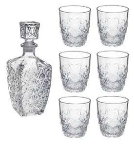 Bormioli Rocco Dedalo whisky / Spirit Decanter (750ml) / 6 Glasses Set (260ml) ONLY £9.99 @ Tesco sold by Rinkit (Includes FREE Delivery)