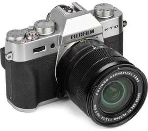 Refurbished Fuji X-T10 with 16-50mm lens £404.10 with code from Fuji BACK IN STOCK