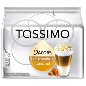 tassimo Jacobs caramel latte £19.99 del 5 packs 40 drinks @ ebay eurocoffepods