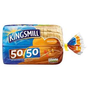 Kingsmill 50/50 800g 50p Iceland 7 Day Deal Starting 22nd June