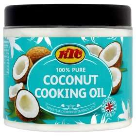 KTC 100% Pure Coconut Cooking Oil 650ml only £2 @ ASDA