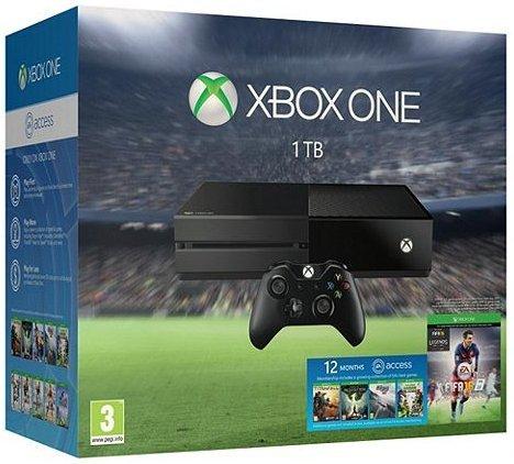 Xbox One 1TB Fifa 16 Console Bundle + Rocket League, Forza 6 & 1 Year EA Access £249 @ Tesco Direct