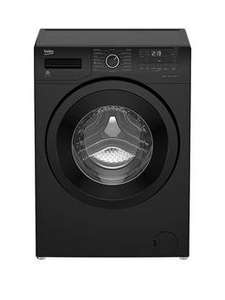 Beko WS832425B 8kg Load, 1300 Spin Washing Machine - Black - £229.99 @ Very