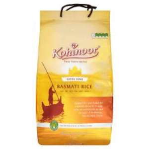 Kohinoor Gold Extra Long Basmati Rice 10Kg was £14 then £9 now £8.50 @ tesco