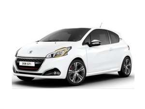 Peugeot 208 GTI Prestige 9+23 months  £131.99 / month personal lease £4583.68 vehiclesforbusiness