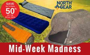 North Gear Camping Equipment Sale Save Up To 50% OFF For 48 Hours @ TheSportsHQ