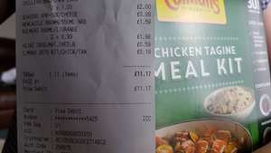 Colmans 287g Chicken Tagine Meal Kit 19p at B&M Chester le Street